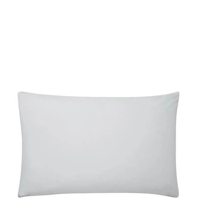 Sanderson Options Plain Dye Grey Pair of Pillowcases