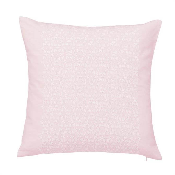 Sanderson Protea Flower Sea Pink Cushion