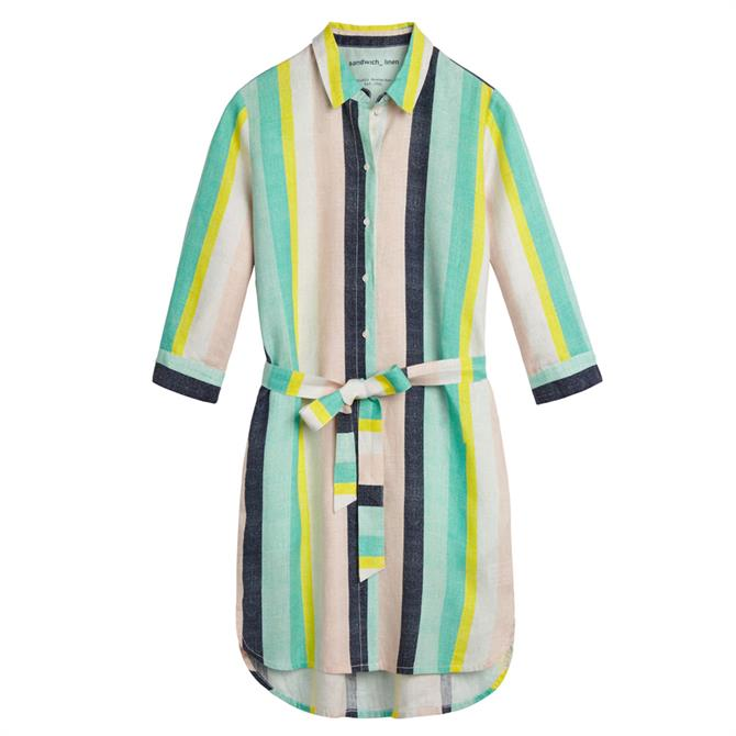 Sandwich Multicoloured Striped Dress
