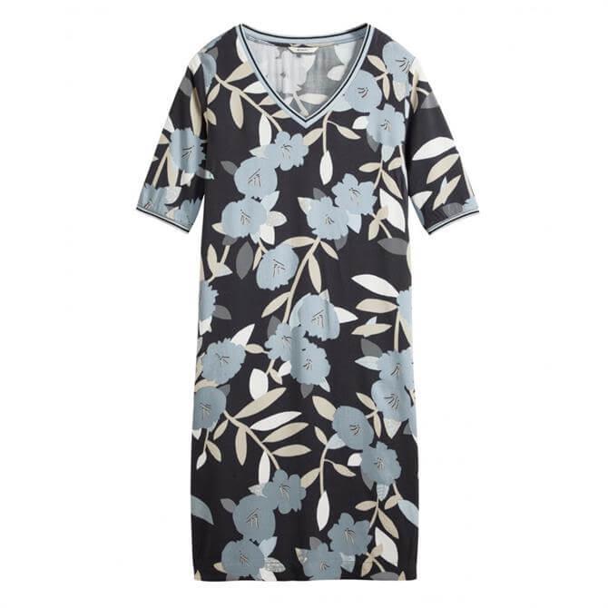 Sandwich Floral & Lurex Dress