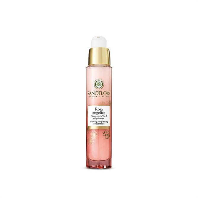Sanoflore Certified Organic Rosa Angelica Morning Rehydrating Concentrate Rose Serum 30ml