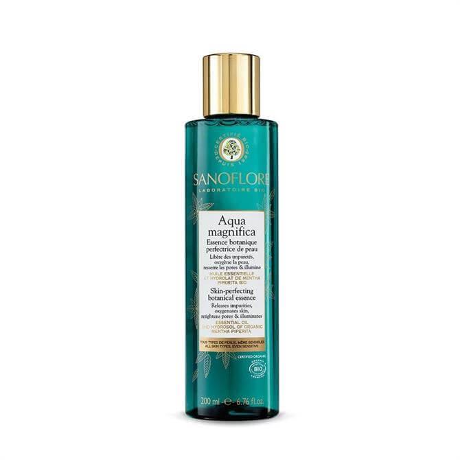 Sanoflore Certified Organic Aqua Magnifica Peppermint Skin-Perfecting Purifying Toner 200ml