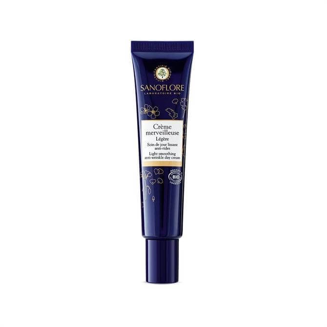 Sanoflore Certified Organic Crème Merveilleuse Light Anti-Ageing Smoothing Moisturiser 50ml