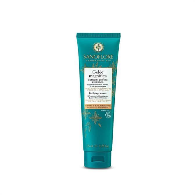 Sanoflore Certified Organic Gelée Magnifica Peppermint Purifying Cleanser 125ml