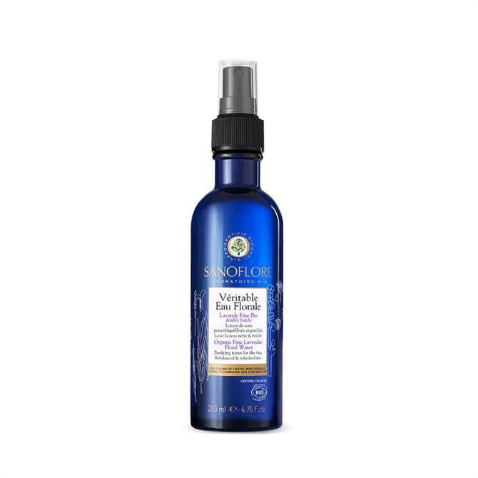 Sanoflore Certified Organic Lavender Floral Water Calming Toner Mist 200ml