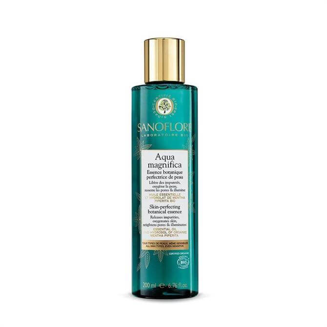 Sanoflore Certified Organic Aqua Magnifica Peppermint Skin-Perfecting Purifying Toner 400ml