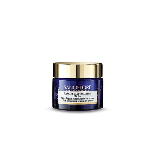 Sanoflore Certified Organic Crème Merveilleuse Rich Anti-Ageing Firming Moisturiser 50ml