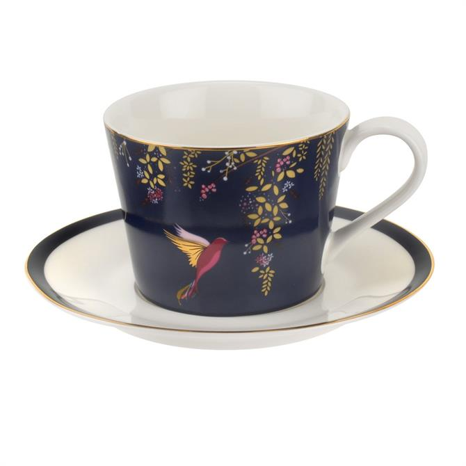 Sara Miller For Portmeirion Chelsea Collection Cup & Saucer