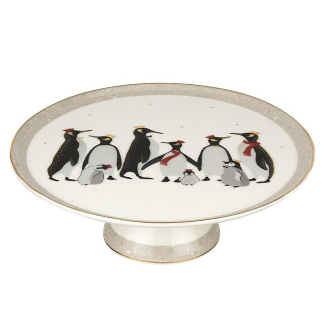 Sara Miller Penguin Collection Footed Cake Plate