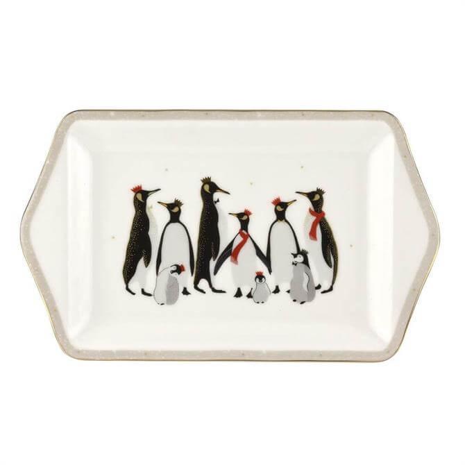 Sara Miller Penguin Collection Dessert Tray
