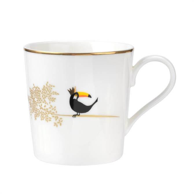 Sara Miller For Portmeirion Piccadilly Collection Mug: Terrific Toucan