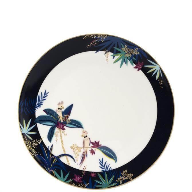 Sara Miller London Tahiti Cockatoo Round Platter