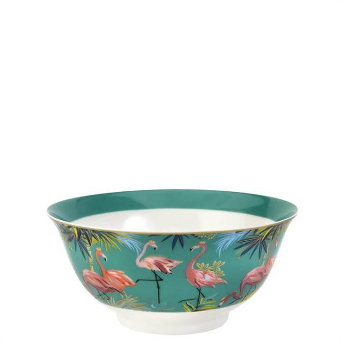 Sara Miller London Tahiti Flamingo Candy Bowl
