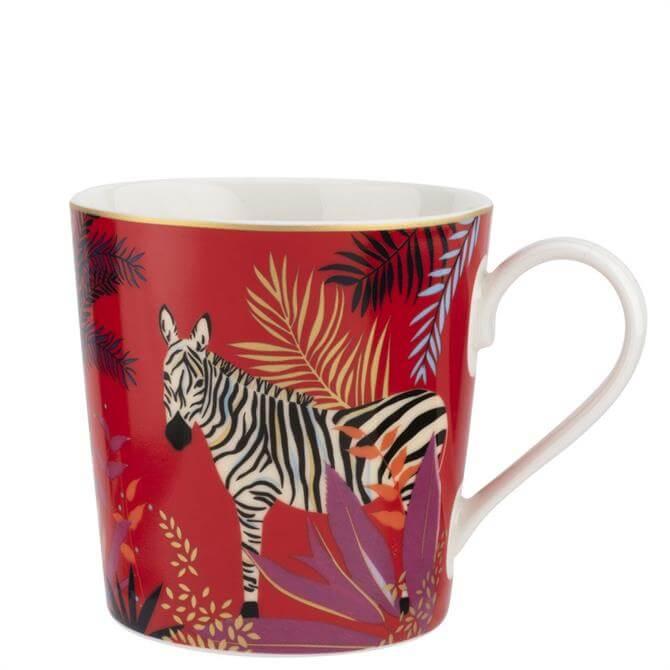 Sara Miller London Zebra Tahiti Mug