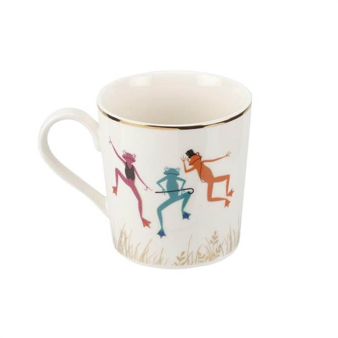Sara Miller London Piccadilly Mighty Fine Frogs Mug