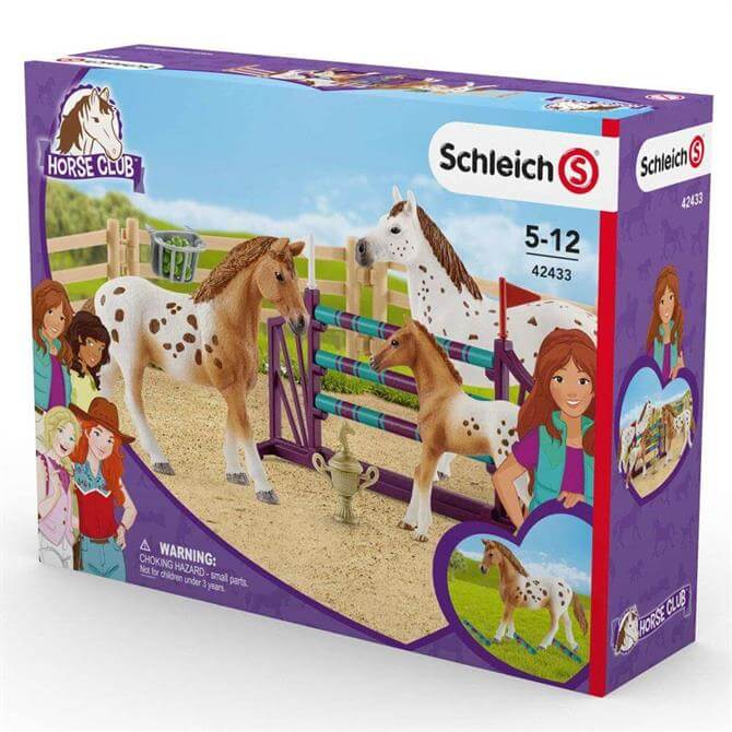 Schleich Horse Club Lisa's Tournament Training