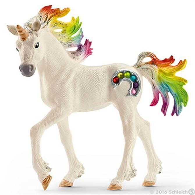 Schleich Rainbow Unicorn Foal 70525