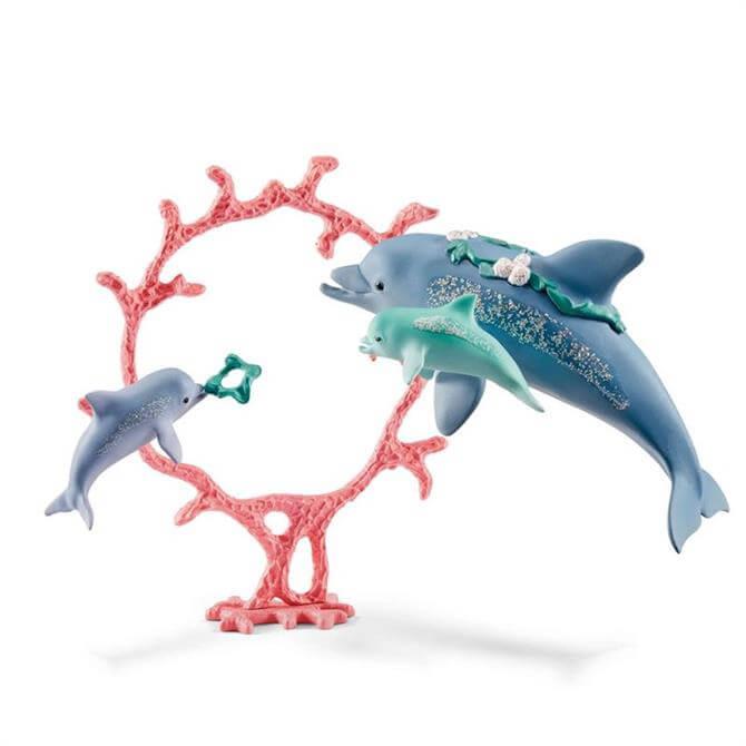 Schleich Dolphin Mum With Babies