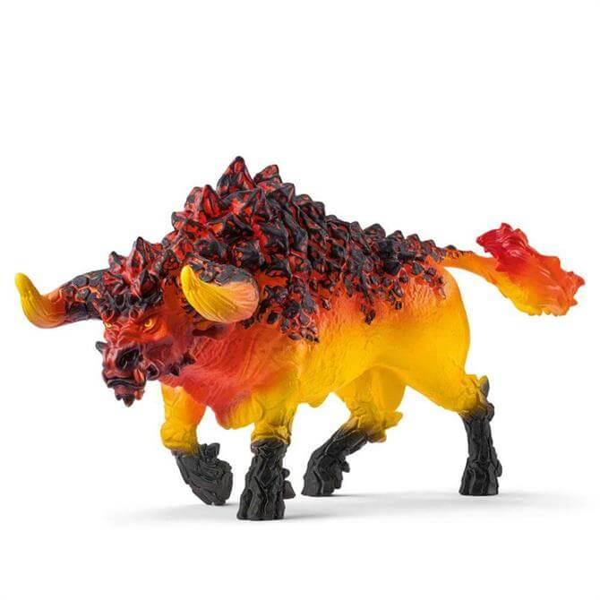 Schleich Fire Bull