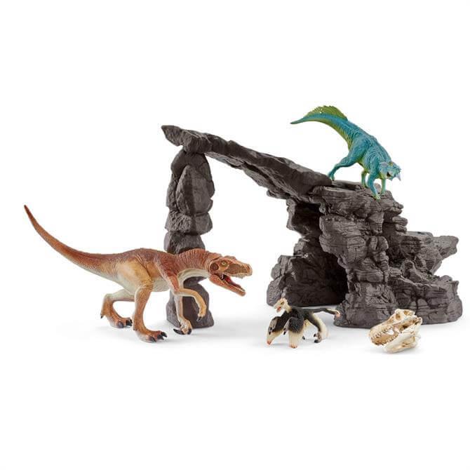 Schleich Dino Set With Cave 41461