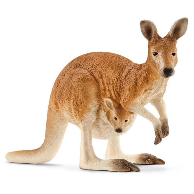 Schleich Kangaroo and Baby Joey