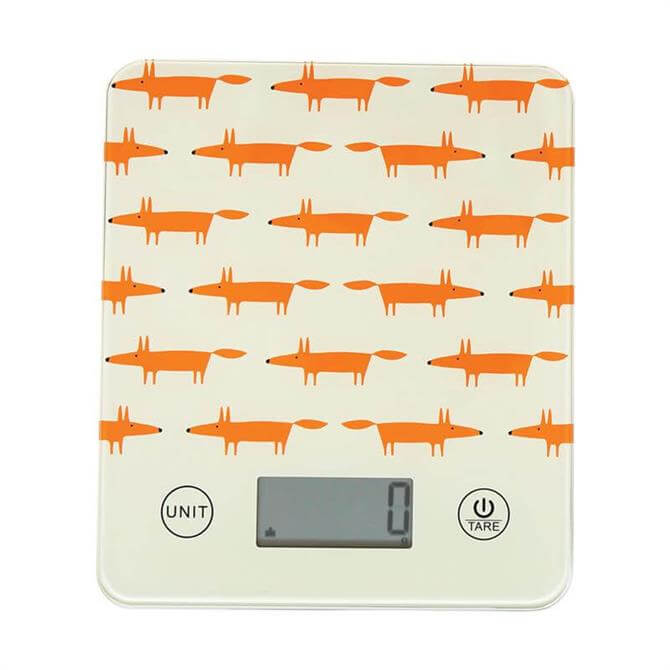 Scion Living Electronic Kitchen Scales: Mr Fox