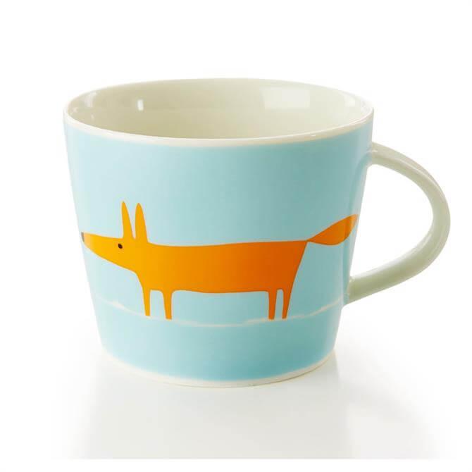 Scion Orange & Duckegg Mug