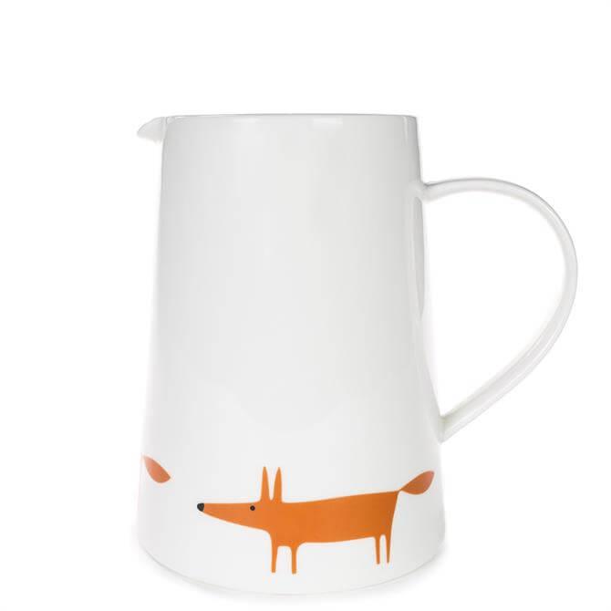 Scion Large Mr Fox Ceramic & Orange Jug
