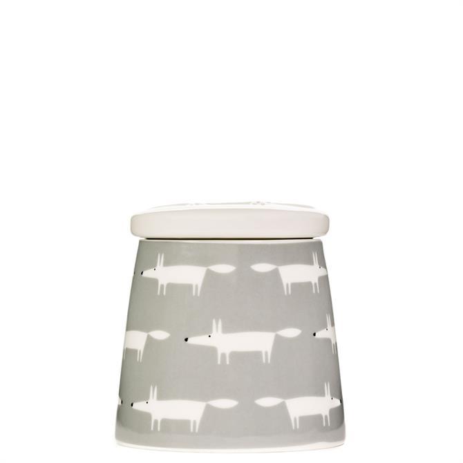 Scion Small Mr Fox Dove Grey Multi Jar