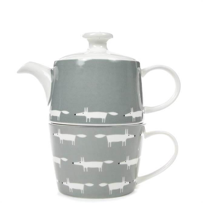Scion Mr Fox Dove Grey Tea for One Set