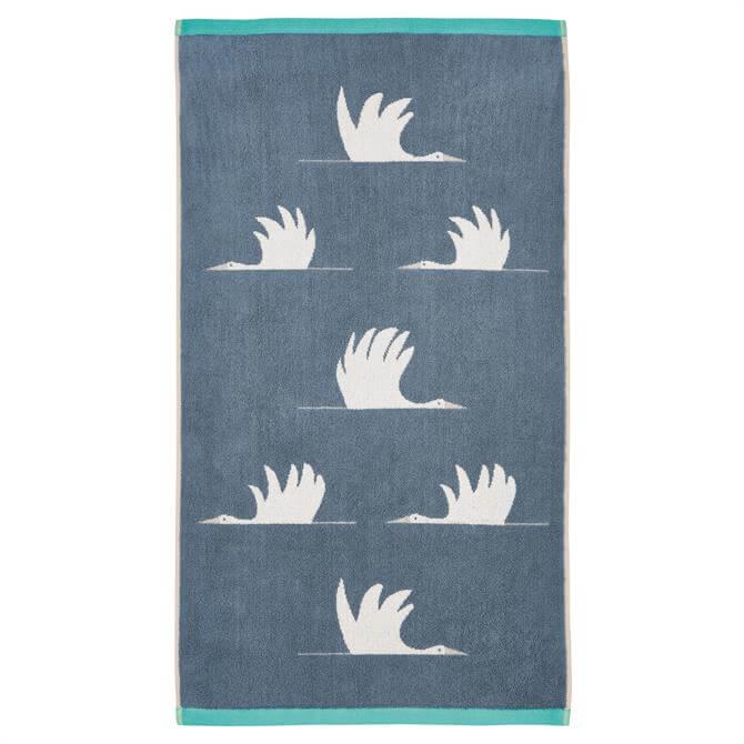 Scion Colin Crane Chalky Cool Lagoon Towel