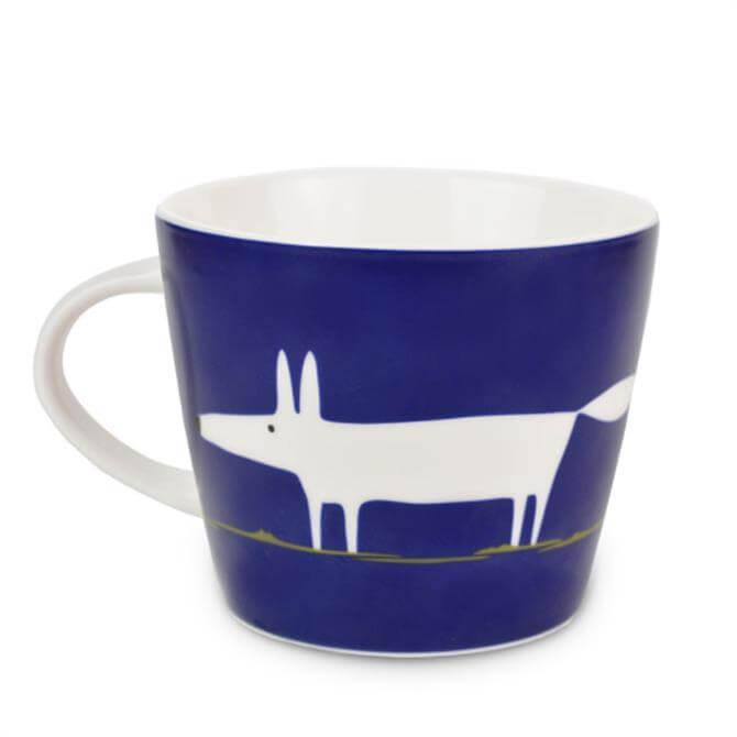 Scion Mr Fox Standard Mug: Indigo