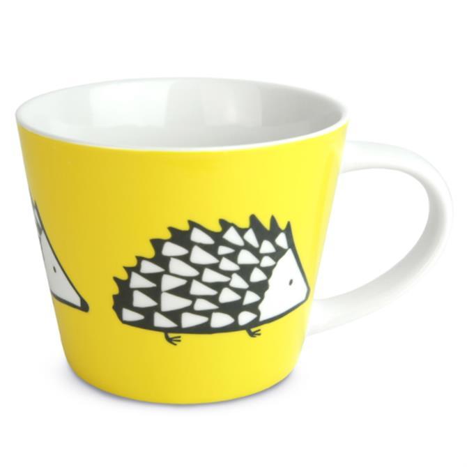 Scion Spike The Hedgehog Large Mug: Yellow