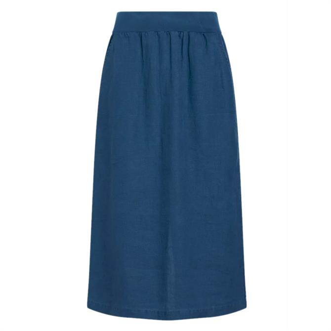 Seasalt Angel Ray Linen Midi Skirt