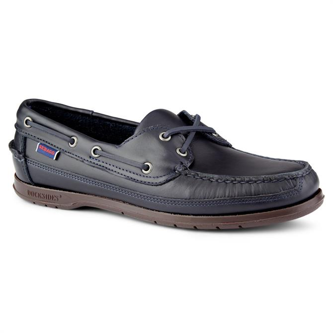 Sebago Mens Schooner Shoe - Navy