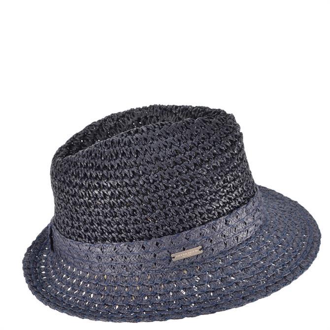 Seeberger Paper Straw Fedora Hat