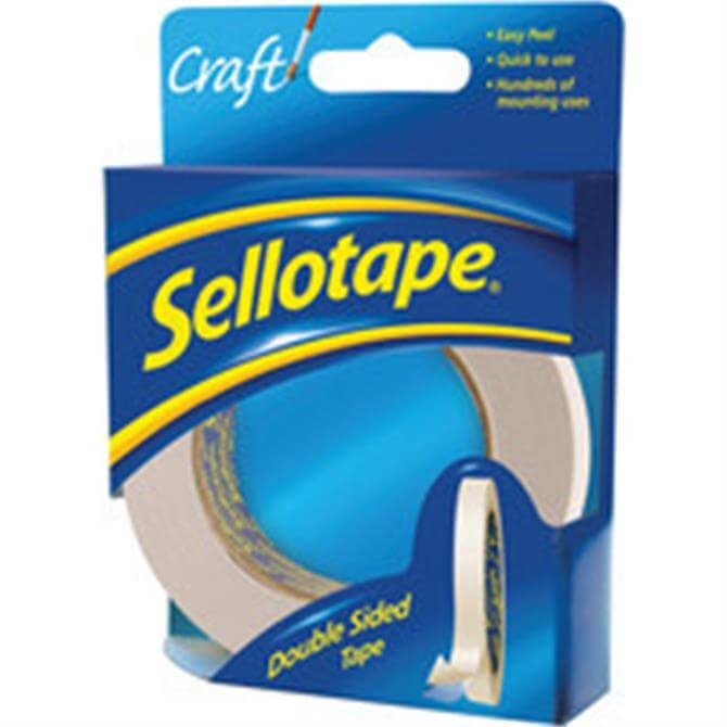 Sellotape DoubleSided Tape 12mmx33M 2280
