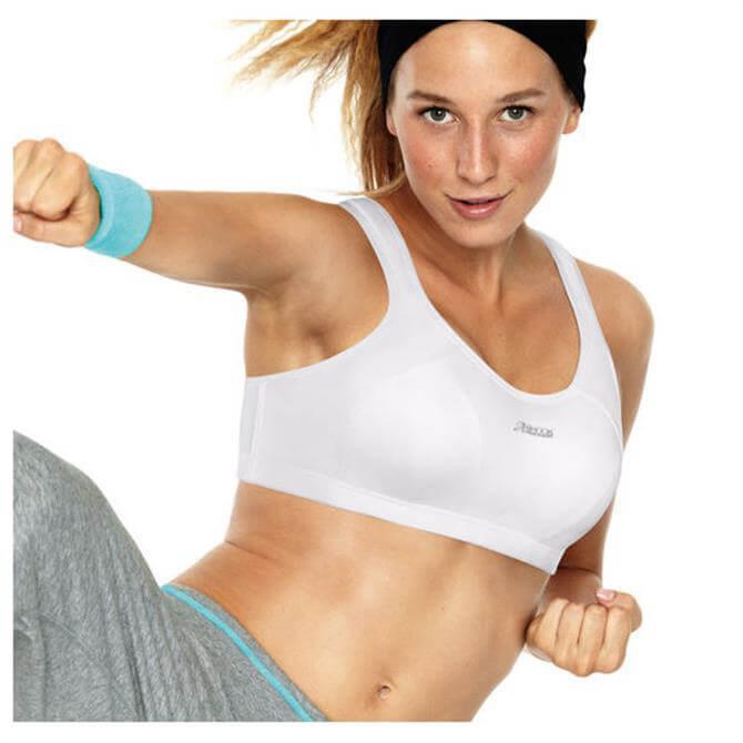 Shock Absorber Sports Bra Top - White