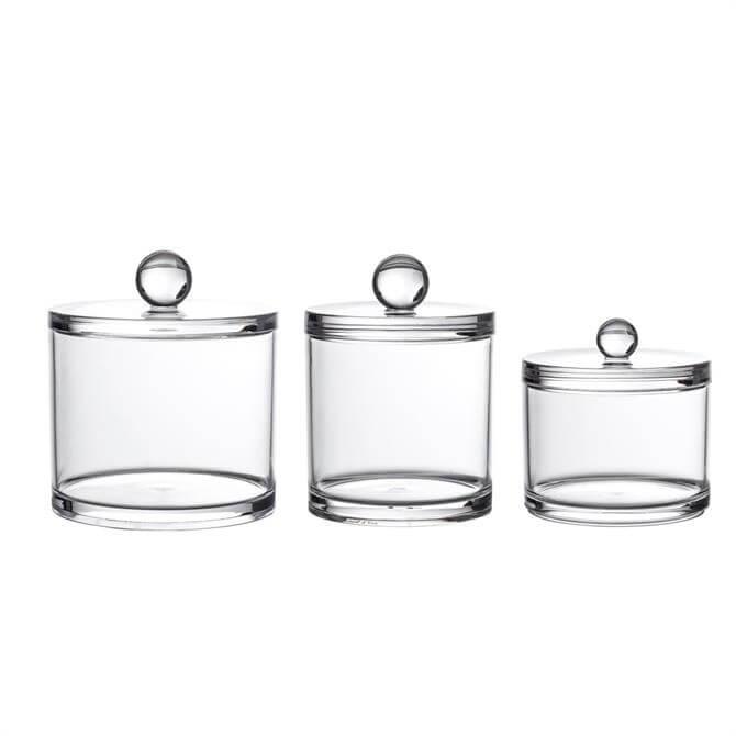 Showerdrape Serene Acrylic Storage Jar