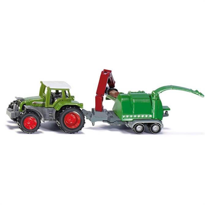 Alpha Siku Tractor Wood Chipper