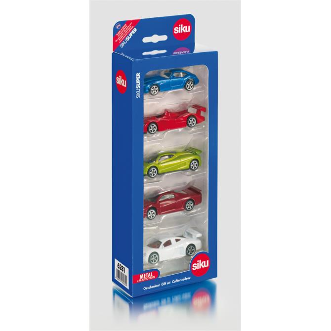 Alpha Siku 5 Car Gift Set