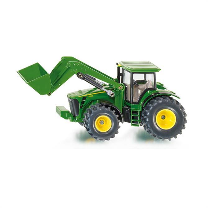 Siku John Deere Tractor with Front Loader