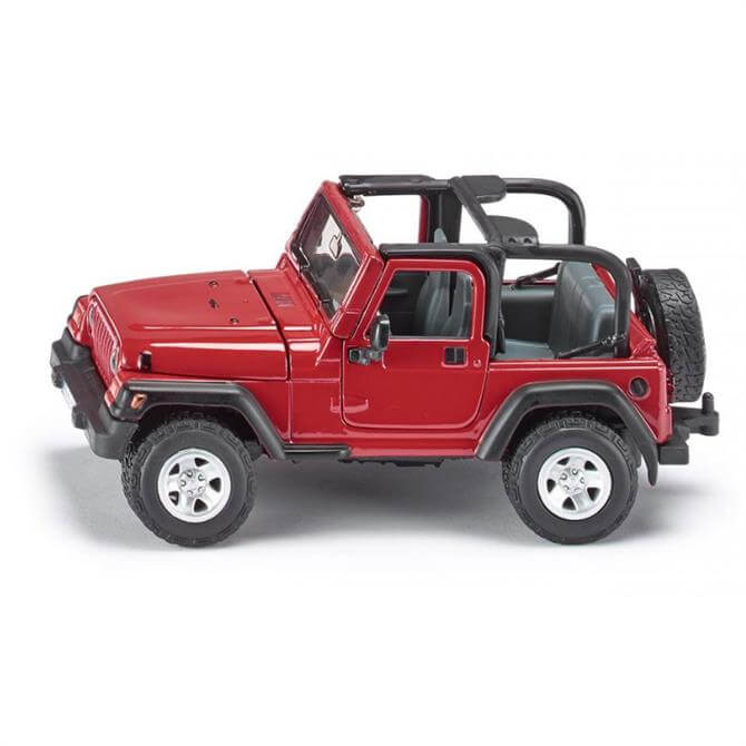 Siku 4-Wheel Drive Jeep Wrangler