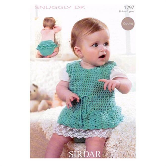 Sirdar Snuggly DK 1297 Crochet Pattern