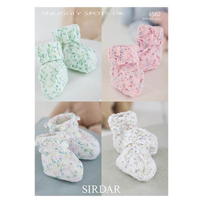 Sirdar Snuggly Spots Pattern 4562