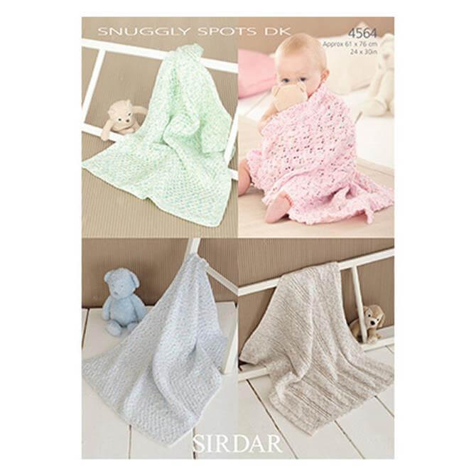 Sirdar Snuggly Spots Pattern 4564