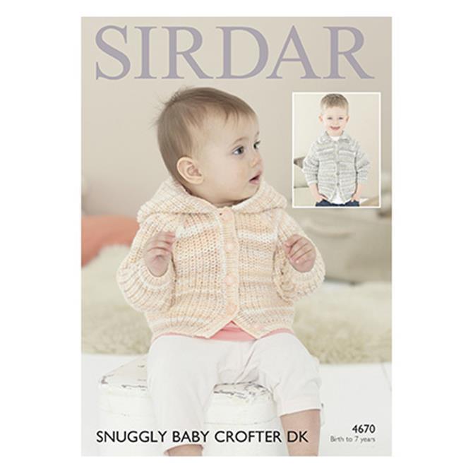 Sirdar Baby Crofter Pattern 4670