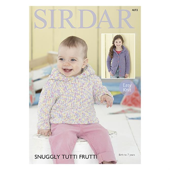 Sirdar Snuggly Tutti Frutti Pattern 4693