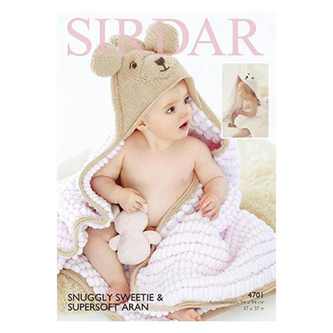 Sirdar Sweetie Pattern 4701