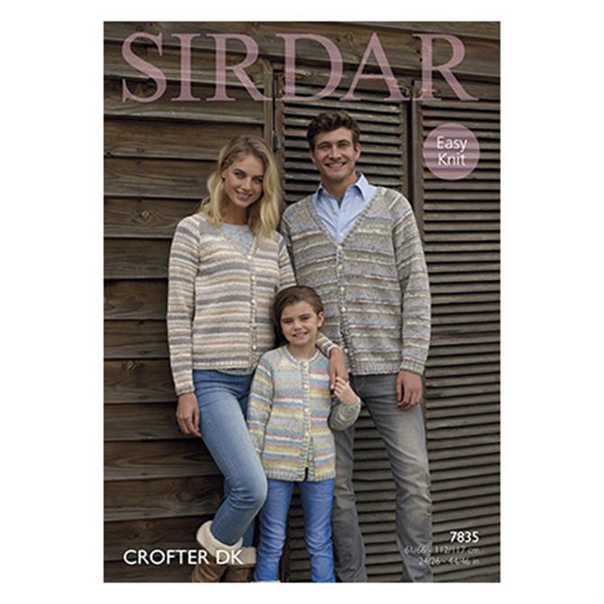 Sirdar Crofter Pattern 7835